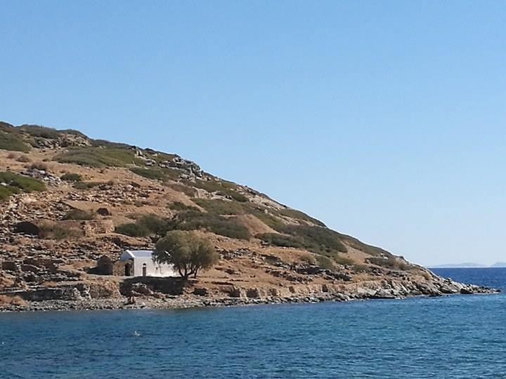 Το νησάκι απέναντι από το Μόχλος