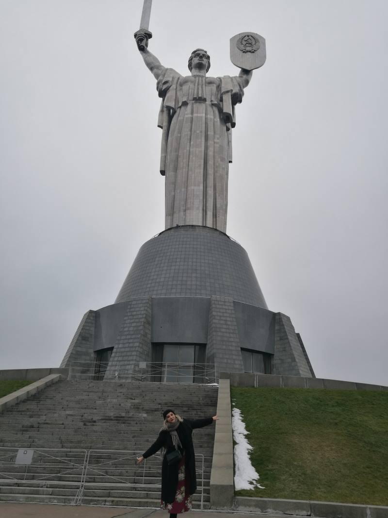 Το άγαλμα της Μητέρας Πατρίδας