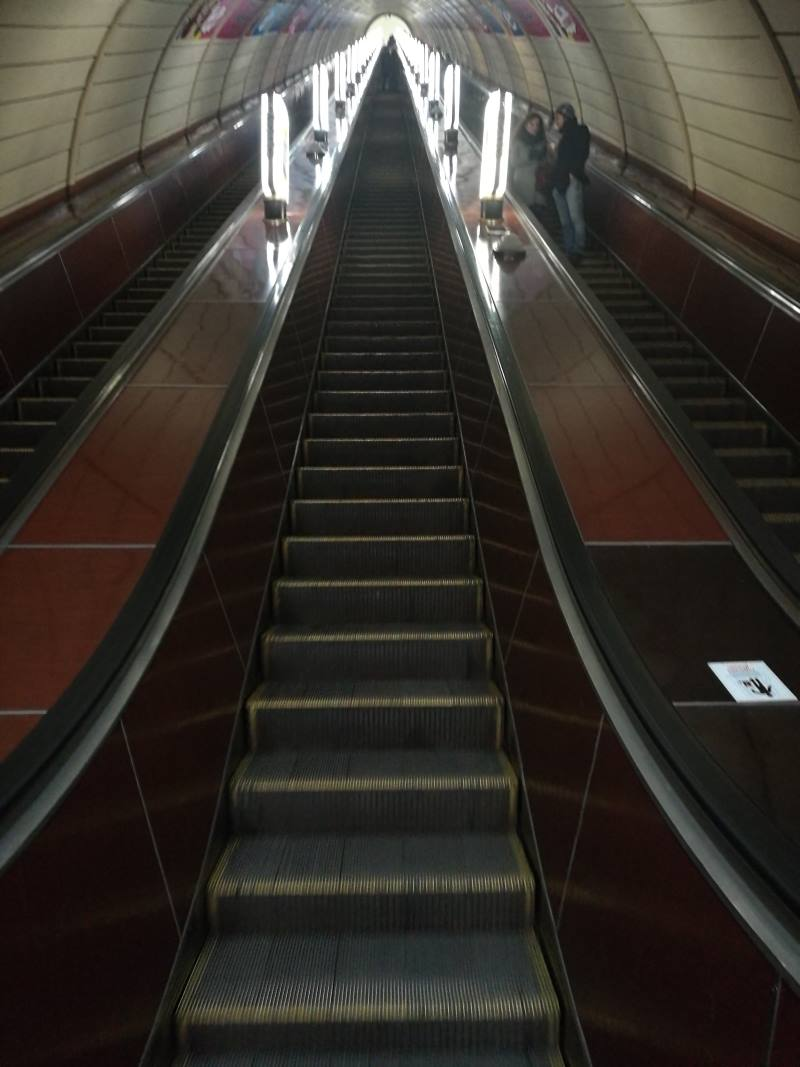 Στον πιο βαθύ σταθμό του μετρό