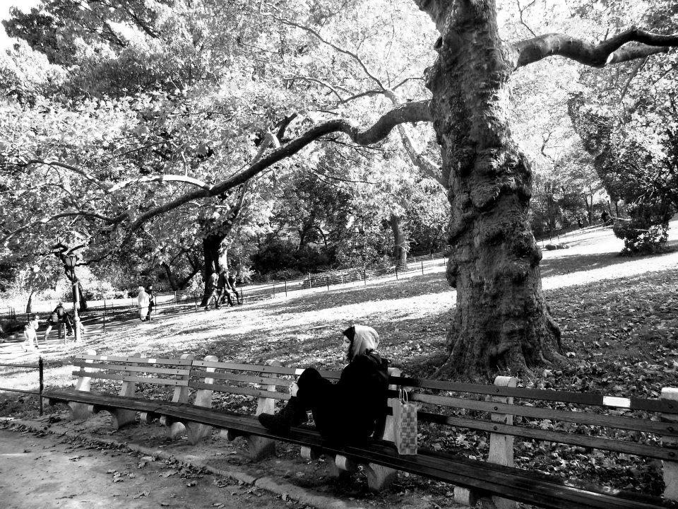Central Park -και μελαχρινή